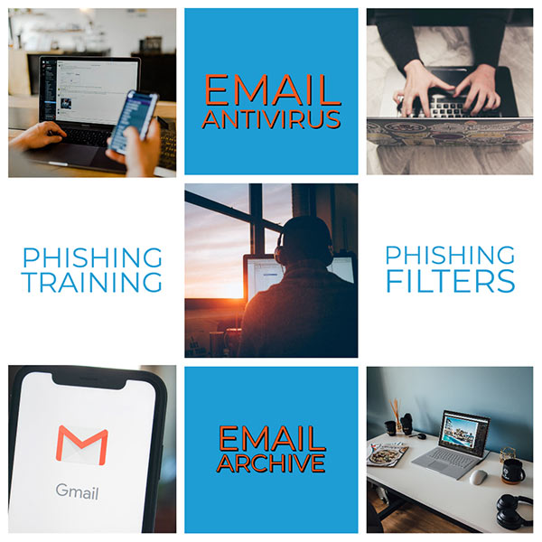 Cyber Safety - Safer emails with phishing filters and antivirus