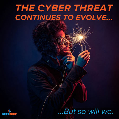 Cyber Security for SME - Cyber threats continue to evolve but so will we to counter them.